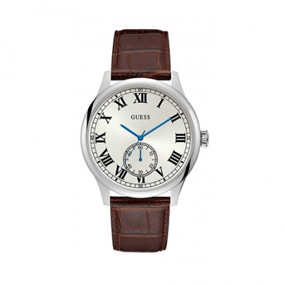 MONTRE GUESS HOMME Bracelet Marron