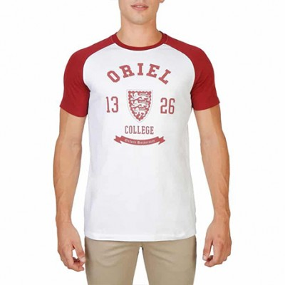 T-shirt rouge et blanc OXFORD