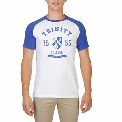 T-shirt bleu OXFORD
