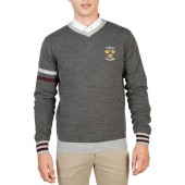 Pull gris Oxford University
