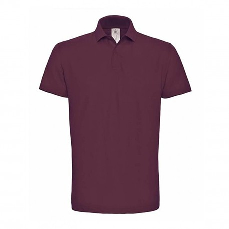 Polo couleur wine