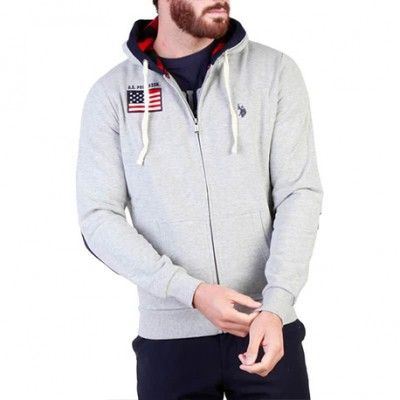 Sweat-Shirt gris US POLO