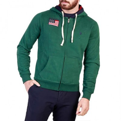 Sweat-Shirt vert US POLO